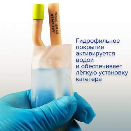 Катетер урологический Фолея мужской двухходовой с гидрофильным покрытием Ch/Fr 20 Apexmed