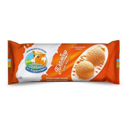 Мороженое пломбир Коровка из Кореновки крем-брюле 400 г бзмж