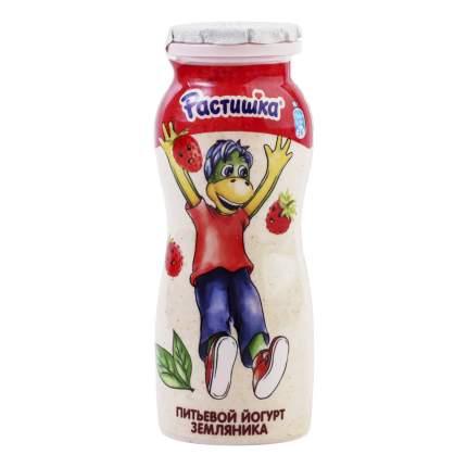 Питьевой йогурт Растишка земляника 1,6% бзмж 90 г х 4 шт