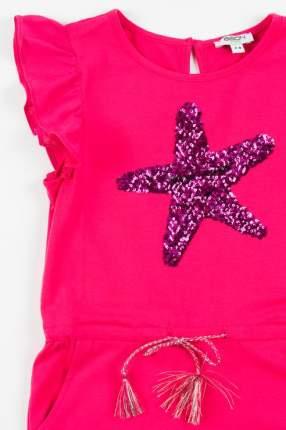 Комбинезон для девочки BAON, цв.розовый, р-р 122