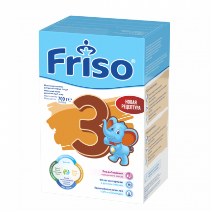 Молочная смесь Friso Friso New от года 700 г
