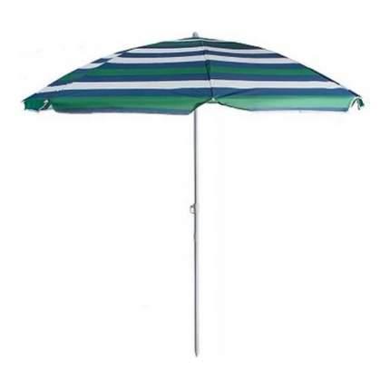 Зонт пляжный 001-025 синий/белый/зеленый р 200см