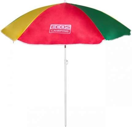 Зонт пляжный Ecos BU-04 160x6 см, складная штанга 145 см