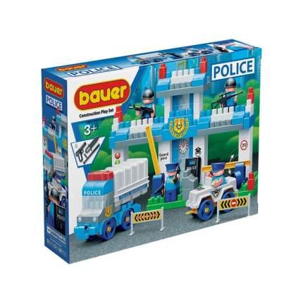 Конструктор Bauer Полиция Полицейский участок, 127 деталей
