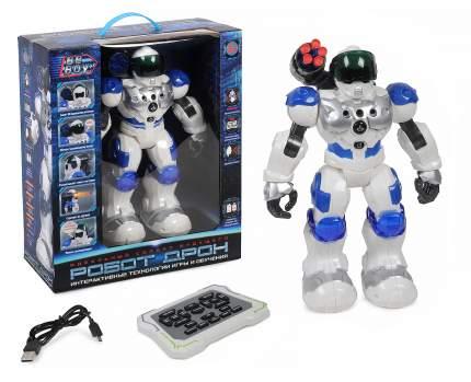 Интерактивный робот на р/у на аккум., стреляет, звук, свет BeBoy