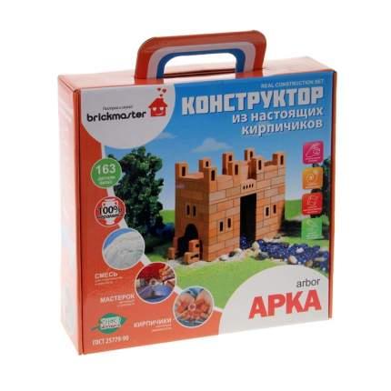 Конструктор керамический Арка, 163 детали Brick