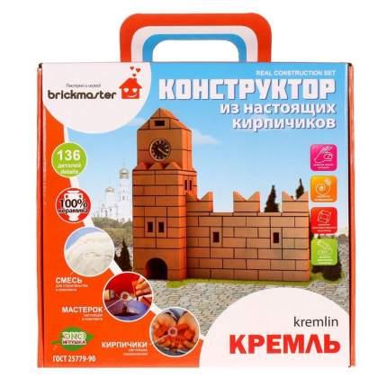 Конструктор керамический Кремль, 136 деталей Brick