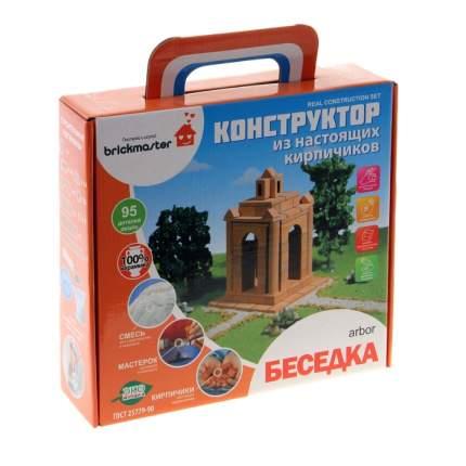 Конструктор керамический для детского творчества Беседка, 95 деталей Brick