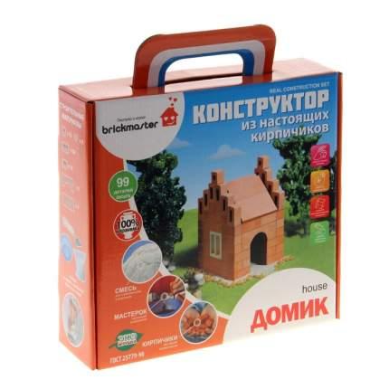 Конструктор керамический для детского творчества Домик, 99 деталей Brick