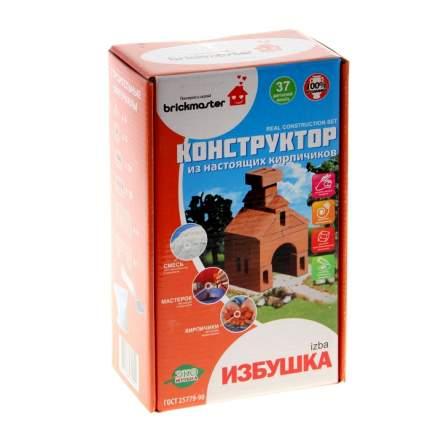 Конструктор керамический для детского творчества Изба, 37 деталей Brick
