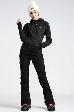Штаны сноубордические женские Flake, черный, L