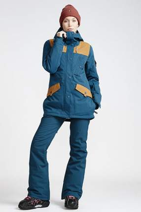 Штаны сноубордические женские Terry Eclipse, темно-синий, S