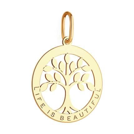 Подвеска «Дерево жизни» SOKOLOV из золота 035031