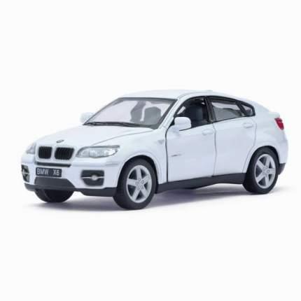 Машина металлическая BMW X6, 1:38, инерция, цвет белый Kinsmart