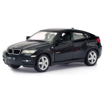 Машина металлическая BMW X6, 1:38, инерция, цвет чёрный Kinsmart