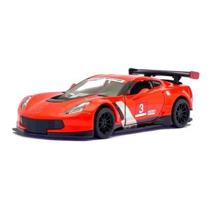 Машина металлическая Kinsmart Chevrolet Corvette C7.R Race Car, 1:36, красный