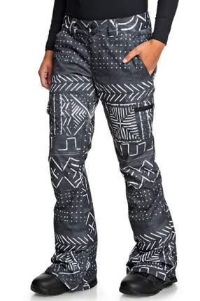 Женские сноубордические штаны Recruit DC Shoes, черный, S