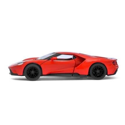 Машина металлическая Ford GT, 1:38, инерция, цвет красный Kinsmart