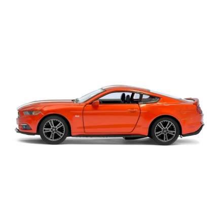 Машина металлическая Ford Mustang GT, 1:38, инерция, цвет медный Kinsmart