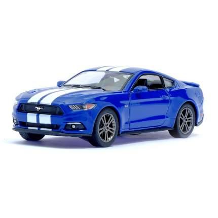 Машина металлическая Ford Mustang GT, 1:38, инерция, цвет синий Kinsmart