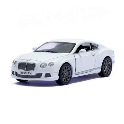 Машина металлическая Kinsmart Bentley Continental GT Speed, 1:38, белый