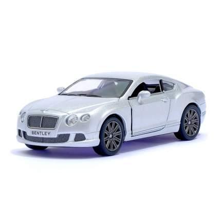 Машина металлическая Kinsmart Bentley Continental GT Speed, 1:38, серебро