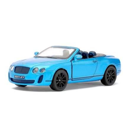 Машина металлическая Kinsmart Bentley Continental Supersports Convertible, 1:38, голубой