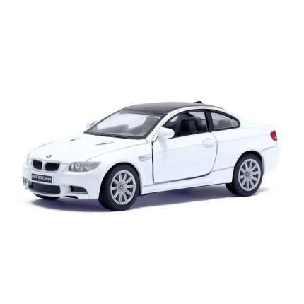 Машина металлическая Kinsmart BMW M3 Coupe, 1:36, белый