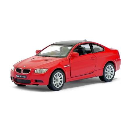 Машина металлическая Kinsmart BMW M3 Coupe, 1:36, красный