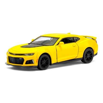 Машина металлическая Kinsmart Chevrolet Camaro ZL1, 1:38, жёлтый