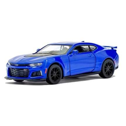 Машина металлическая Kinsmart Chevrolet Camaro ZL1, 1:38, синий