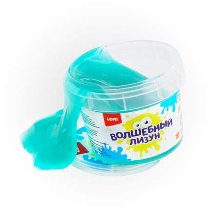 Лизун волшебный LORI Голубой с ароматом тутти-фрутти, 120 мл