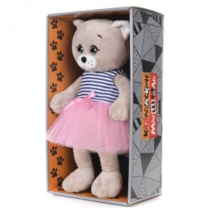 Мягкая игрушка Maxitoys Колбаскин&Мышель Мышель в Розовой Юбочке, 20 см
