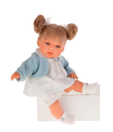 """Кукла """"Тереза"""" (звук), в голубом, 37 см Munecas Antonio"""