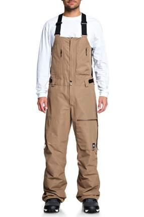Сноубордические штаны с подтяжками Altostratus 2L GORE-TEX Quiksilver, бежевый, S