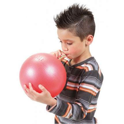 Мяч для дыхательной гимнастики Over Ball 80.11 Orto, цвет: Желтый