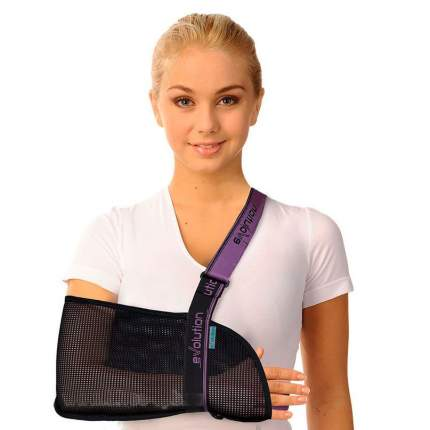 Бандаж поддерживающий на плечевой сустав (косынка) Т-8191 Evolution Тривес, р.S