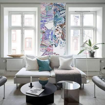 Обои Milan (Триптих. Цветы), М1013, 100х270 см