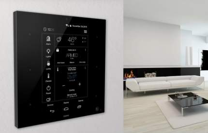Беспроводной контроллер домашней автоматизации Zipato ZipaTile Z-Wave 869 (Black)