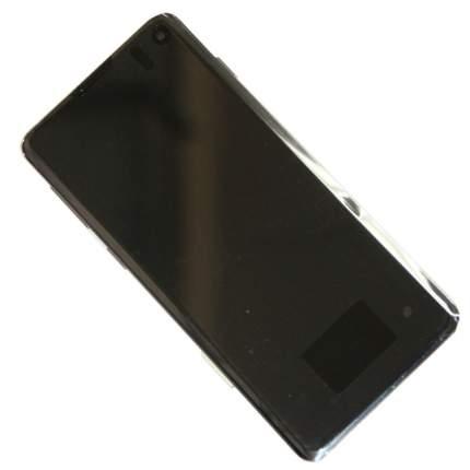Дисплей для Samsung SM-G973F (Galaxy S10) модуль в сборе с тачскрином <черный> (OEM)