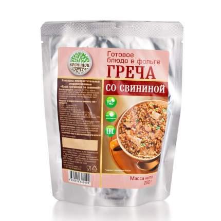 Каша Кронидов гречневая со свининой готовое блюдо 250 г