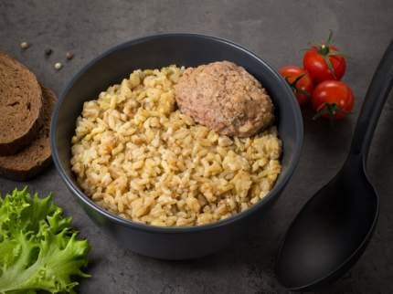 Рис с котлетой Кронидов готовое блюдо в фольге 250 г