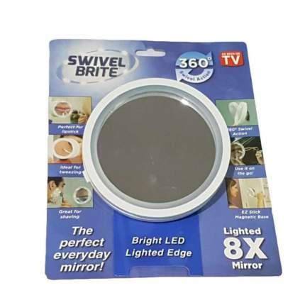 Зеркало с 8-х увеличением и подсветкой Swivel Brite