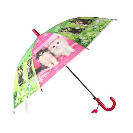 Зонт детский Джамбо Кошки JB0206275, в комплекте свисток, 50 см