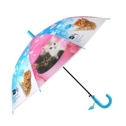 Зонт детский Джамбо Кошки JB0206279, в комплекте свисток, 50 см