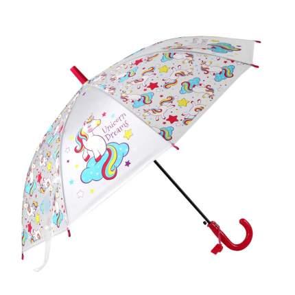 Зонт детский Джамбо Единороги JB0206283, в комплекте свисток, 50 см