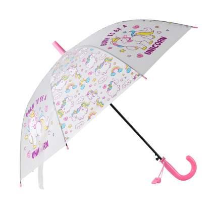 Зонт детский Джамбо Единороги JB0206281, в комплекте свисток, 50 см