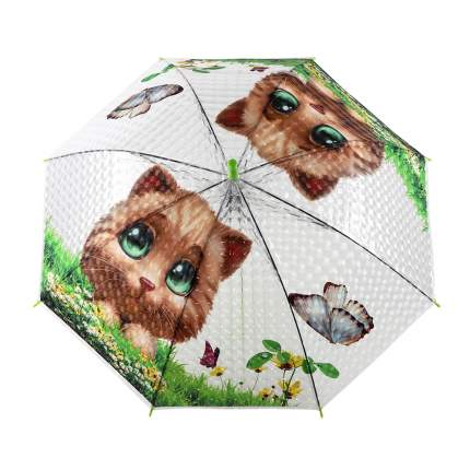 Зонт детский Джамбо Кошка JB0206340, в комплекте свисток, 50 см
