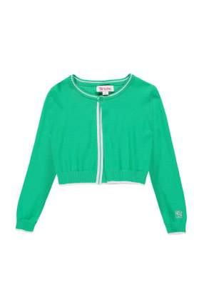 Кардиган для девочки Brums, цв.зеленый, р-р 116