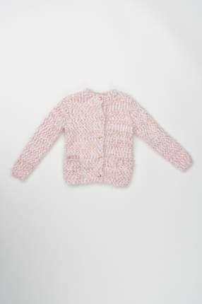 Кардиган для девочки 3pommes, цв.розовый, р-р 98